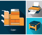 Copier Vector Pack