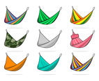 Hammock Vector With Many Pattern