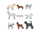 Dog Breed Vector Pack