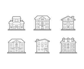 Free Unique Mansion Vectors