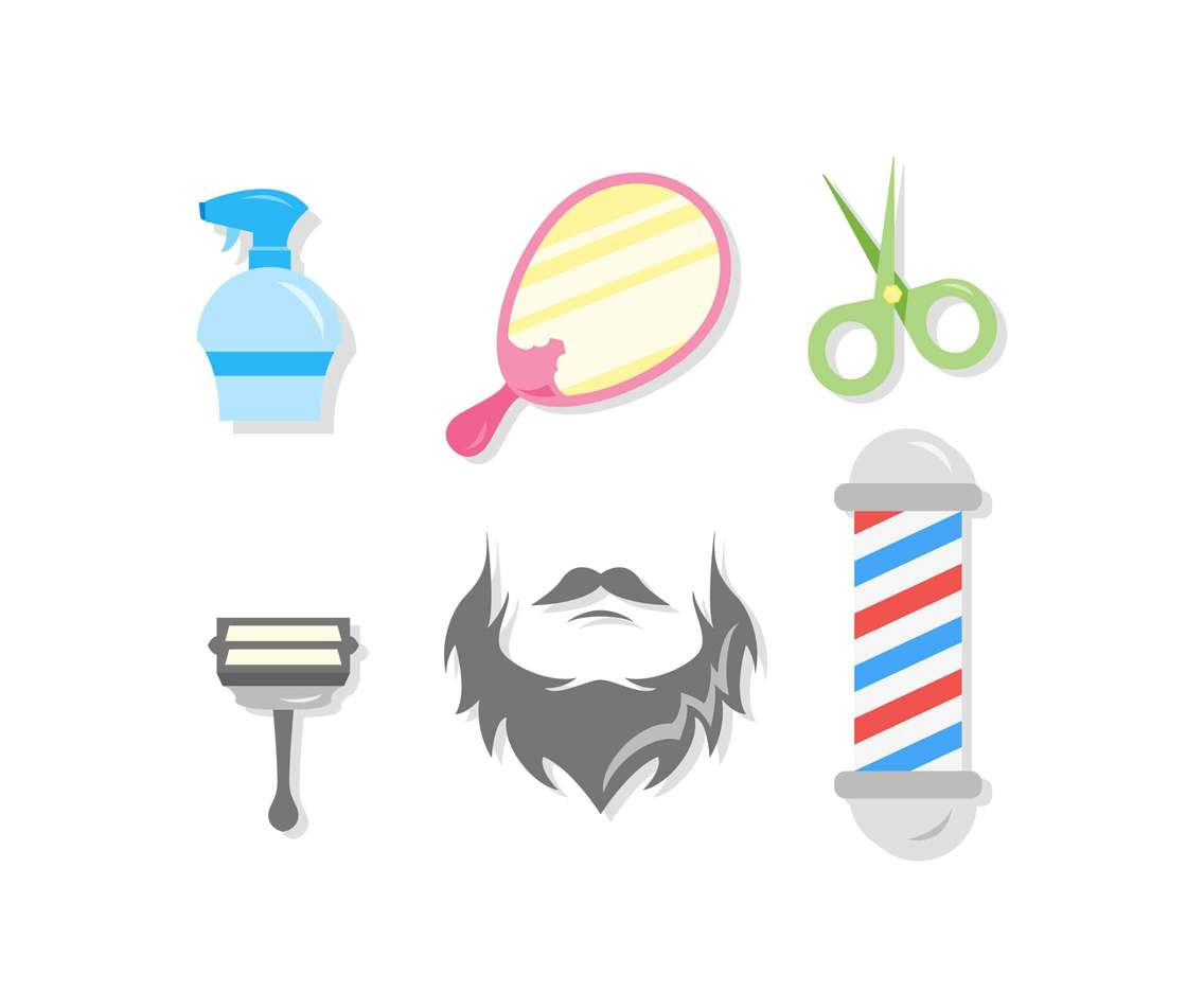 Free Unique Grooming Vectors