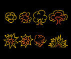 Blast Sketch Collection Vectors