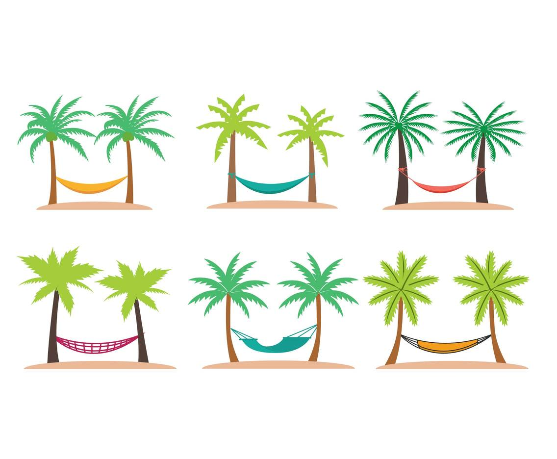 Hammock vector set