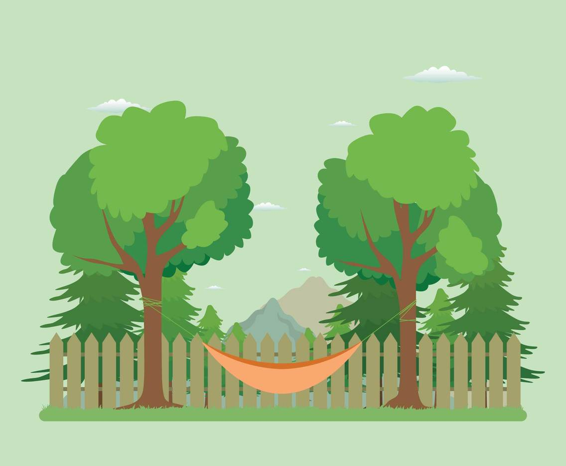 Free Hammock Illustration