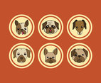 Type of Dogs Vector