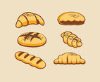 Various Breads Vector