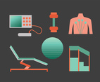 Therapy Equipments Vector Pack
