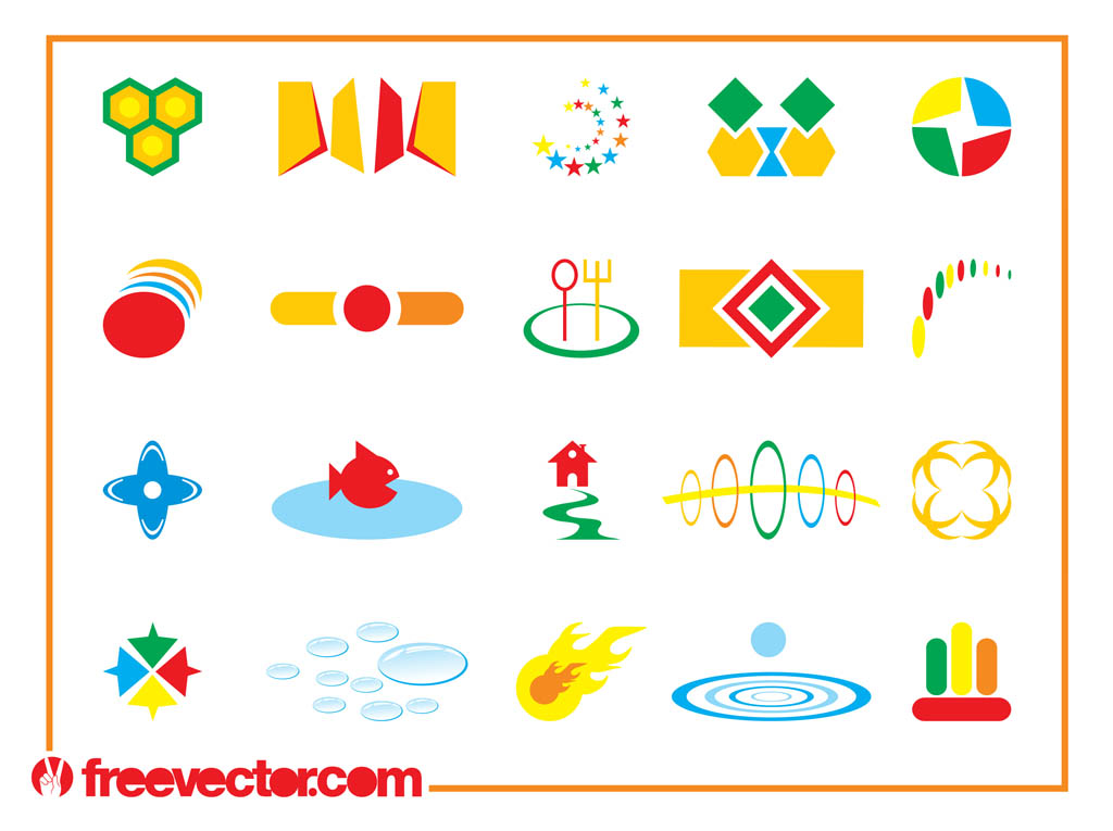 Colorful Icon Designs