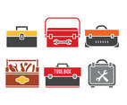 Toolbox vector set