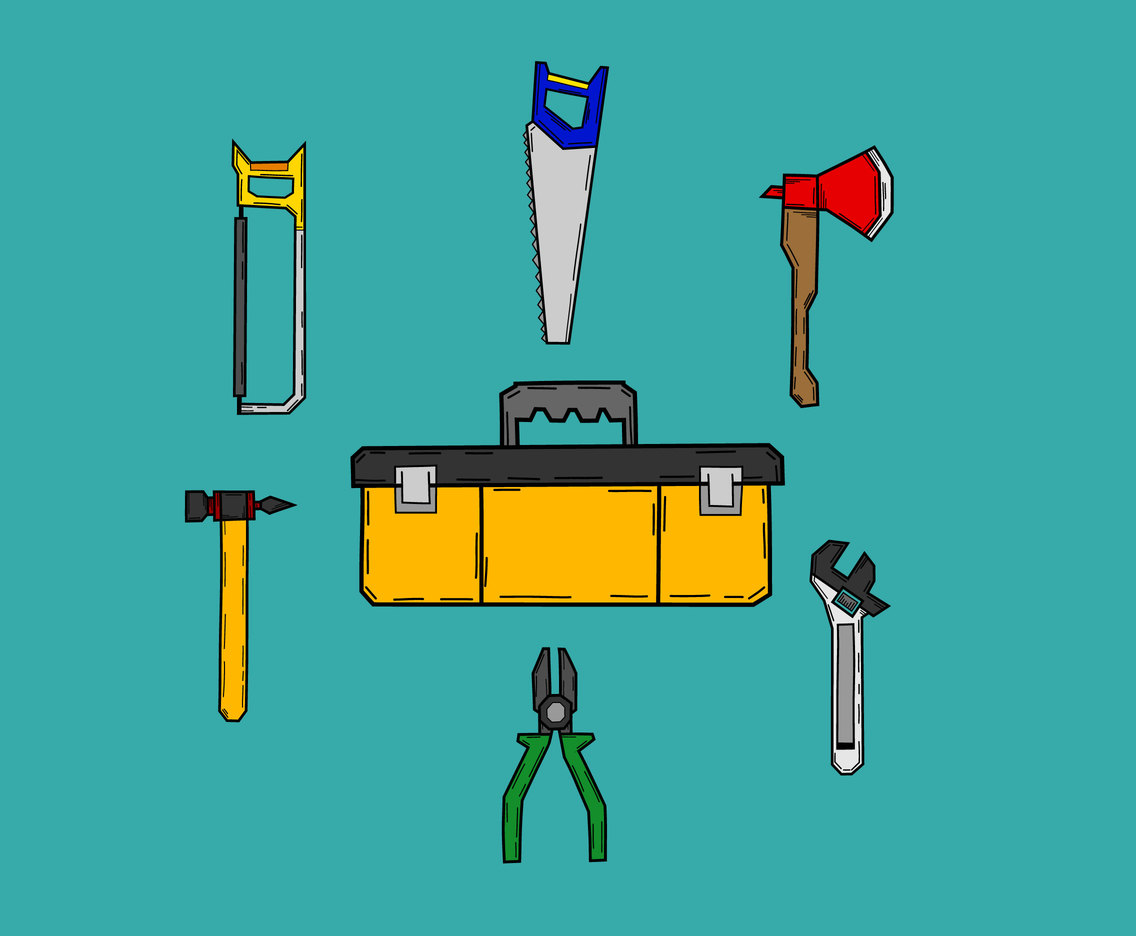 Toolkit Icons Vector