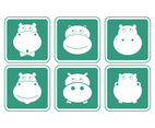 Hippo icon set