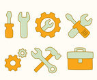 Cartoon Toolbox Element Vectors