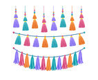 Colorful Decorative Tassels