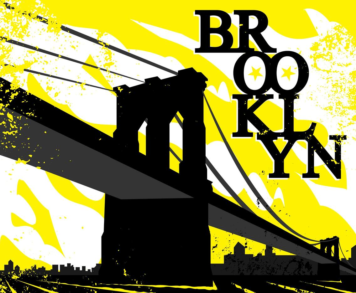 Brooklyn Bridge Illustration Vector