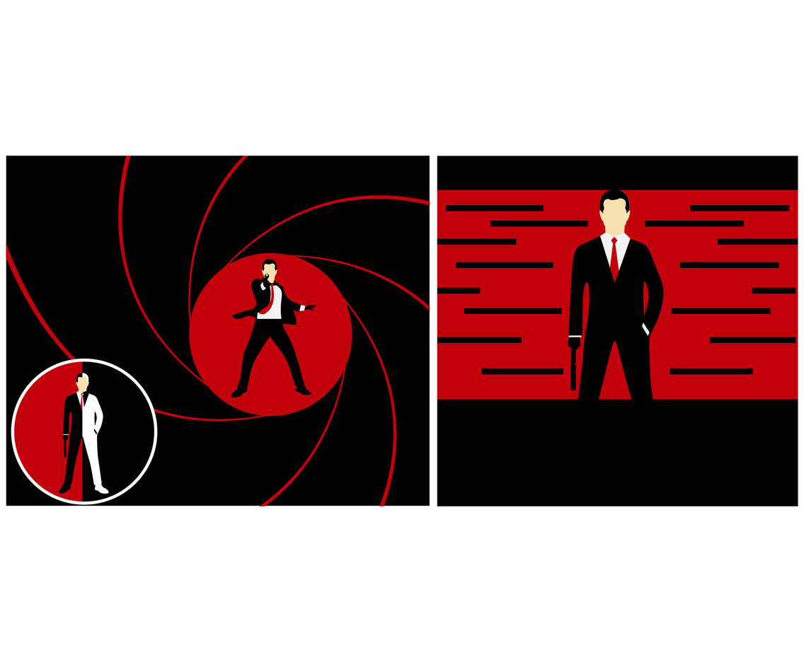 Spy Theme vector