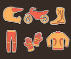 Motocross Element Vectors