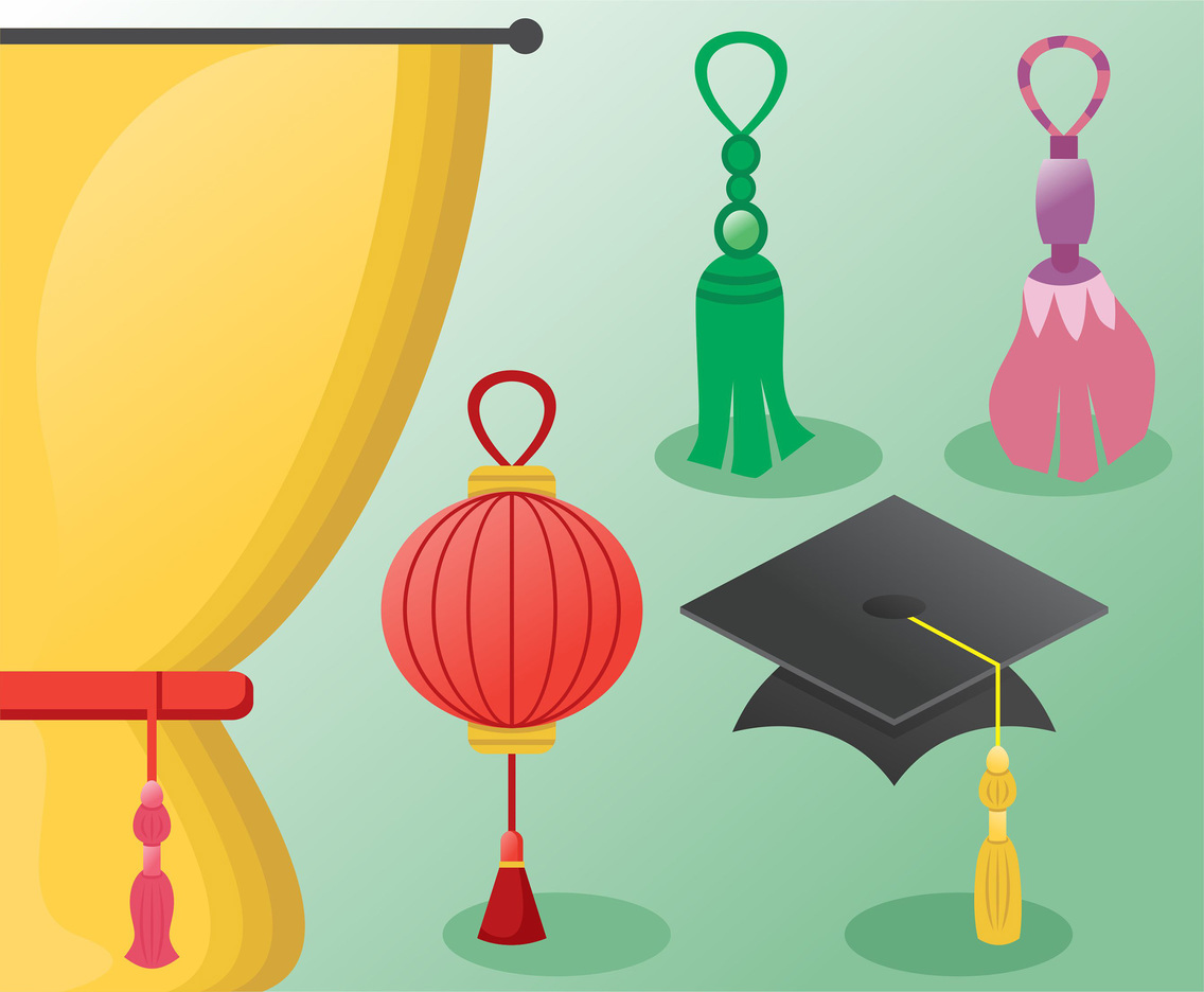 Tassel Vector Pack