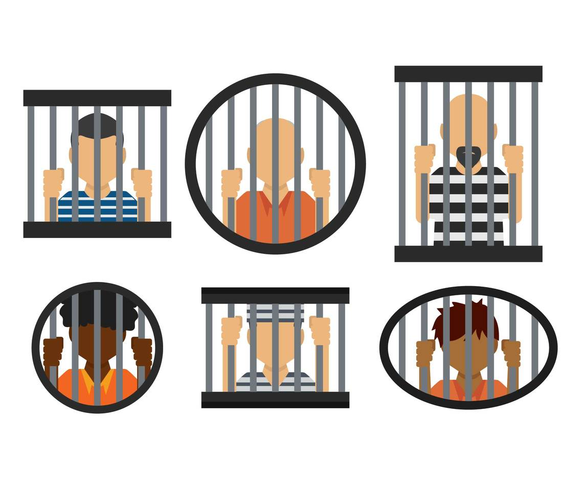 Jail vector set