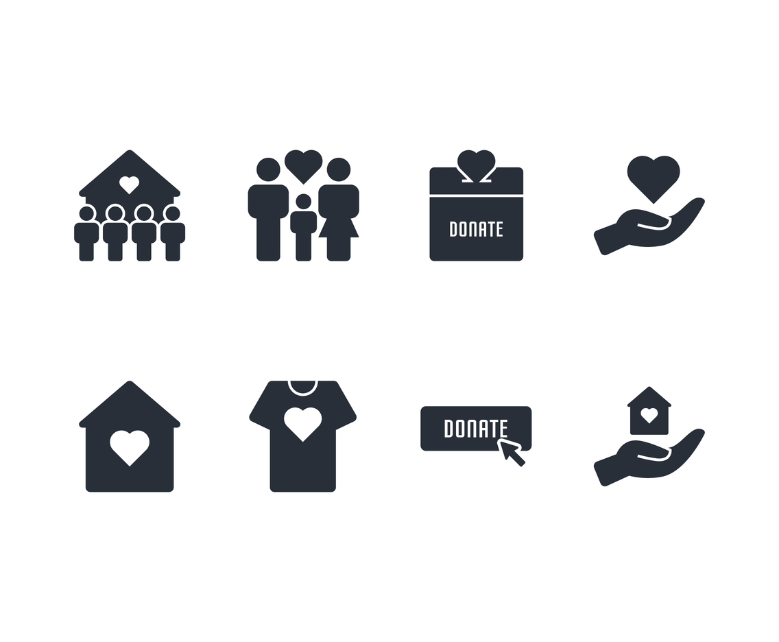 Charity Icon Set