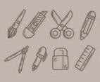 Sketch Stationary Collection Vector
