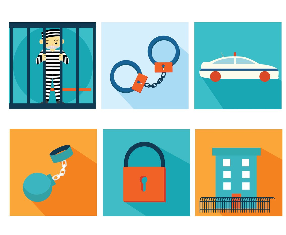 Jail Vector Pack
