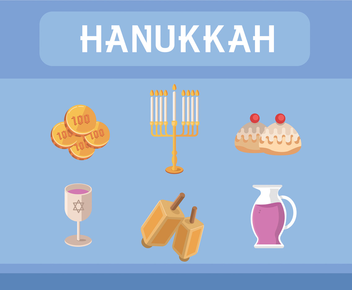 Hanukkah Icon Vector