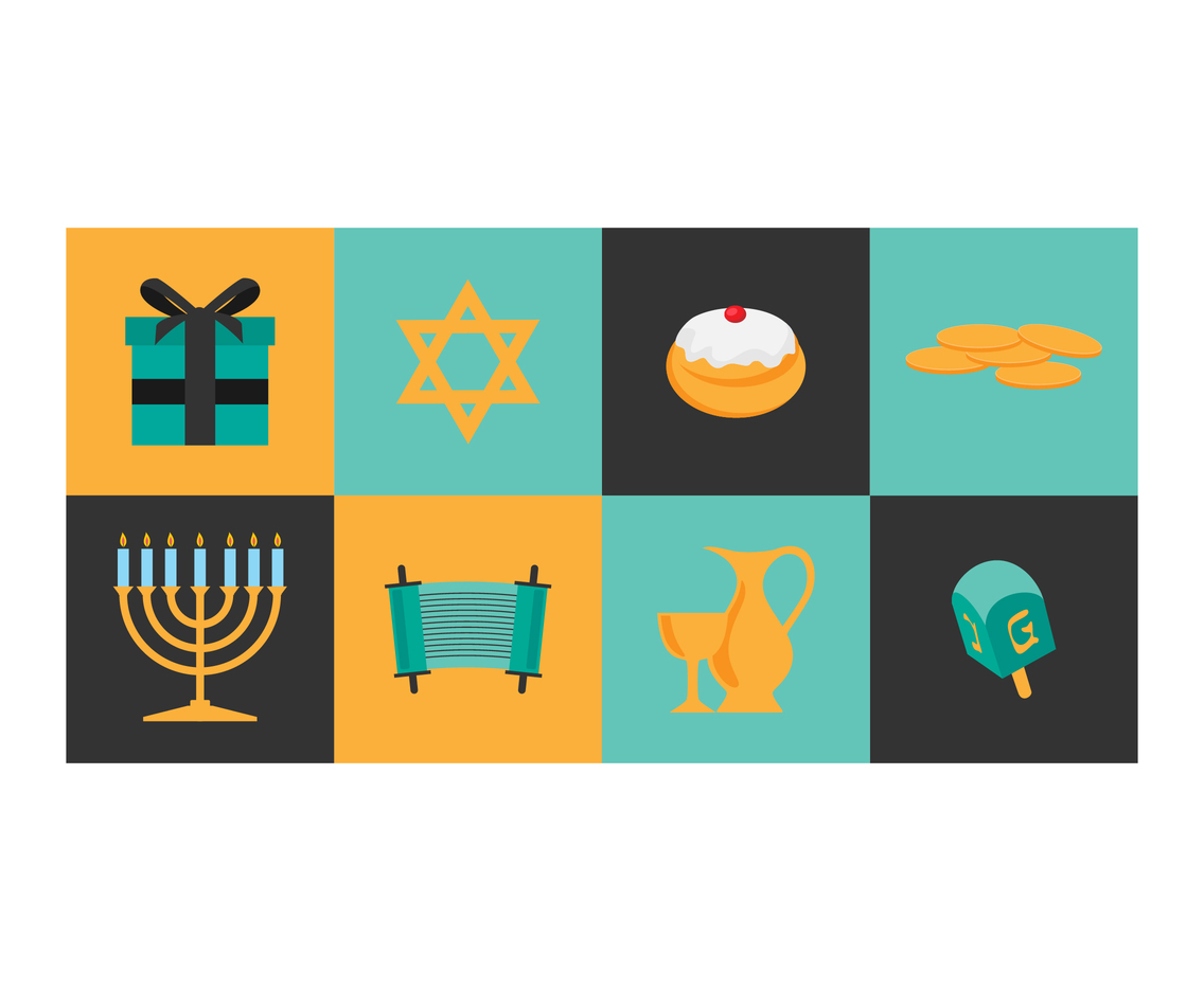Hanukkah Day Icon
