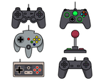 Iconic Joystick Vector