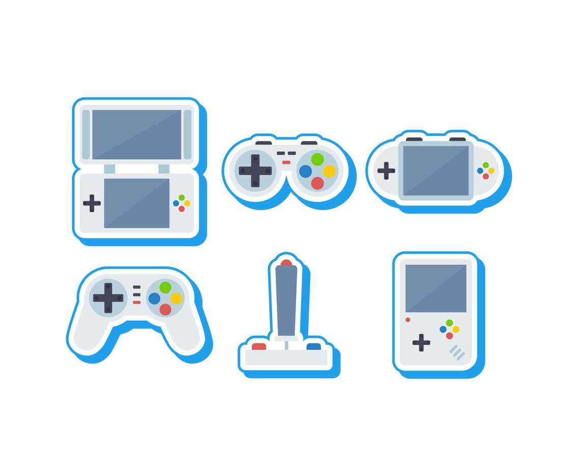 Free Outstanding Gaming Vectors