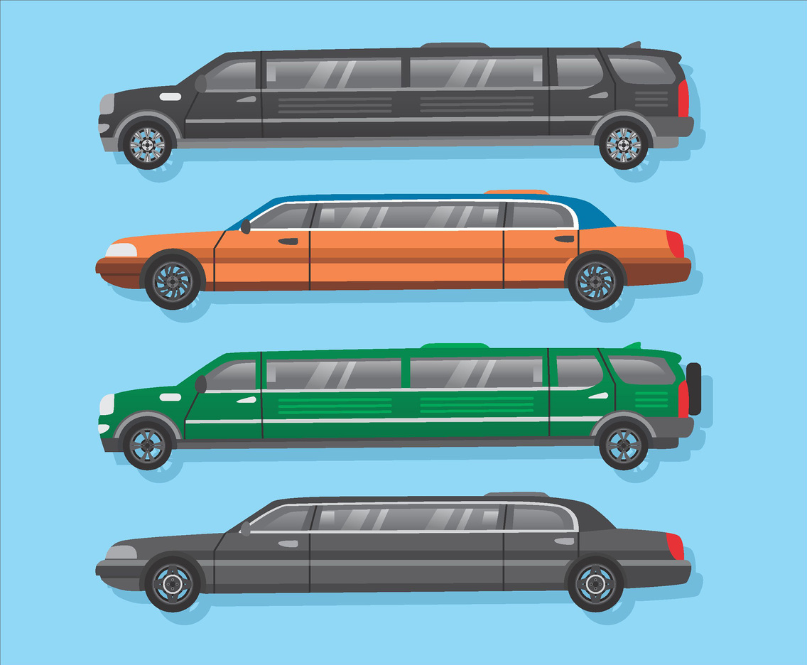 Limousine Vector Pack