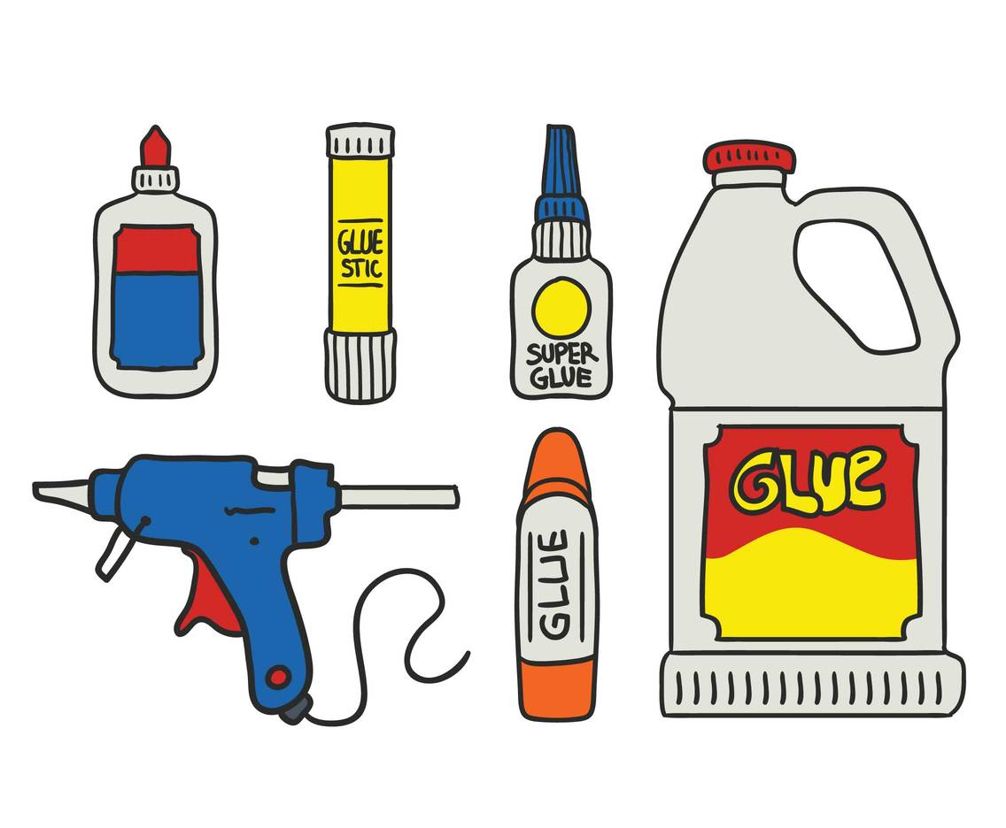 Glue vector set