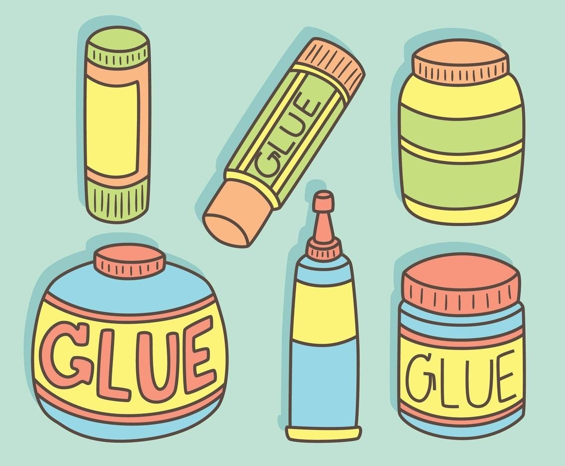 Variation Glue Collection Vector