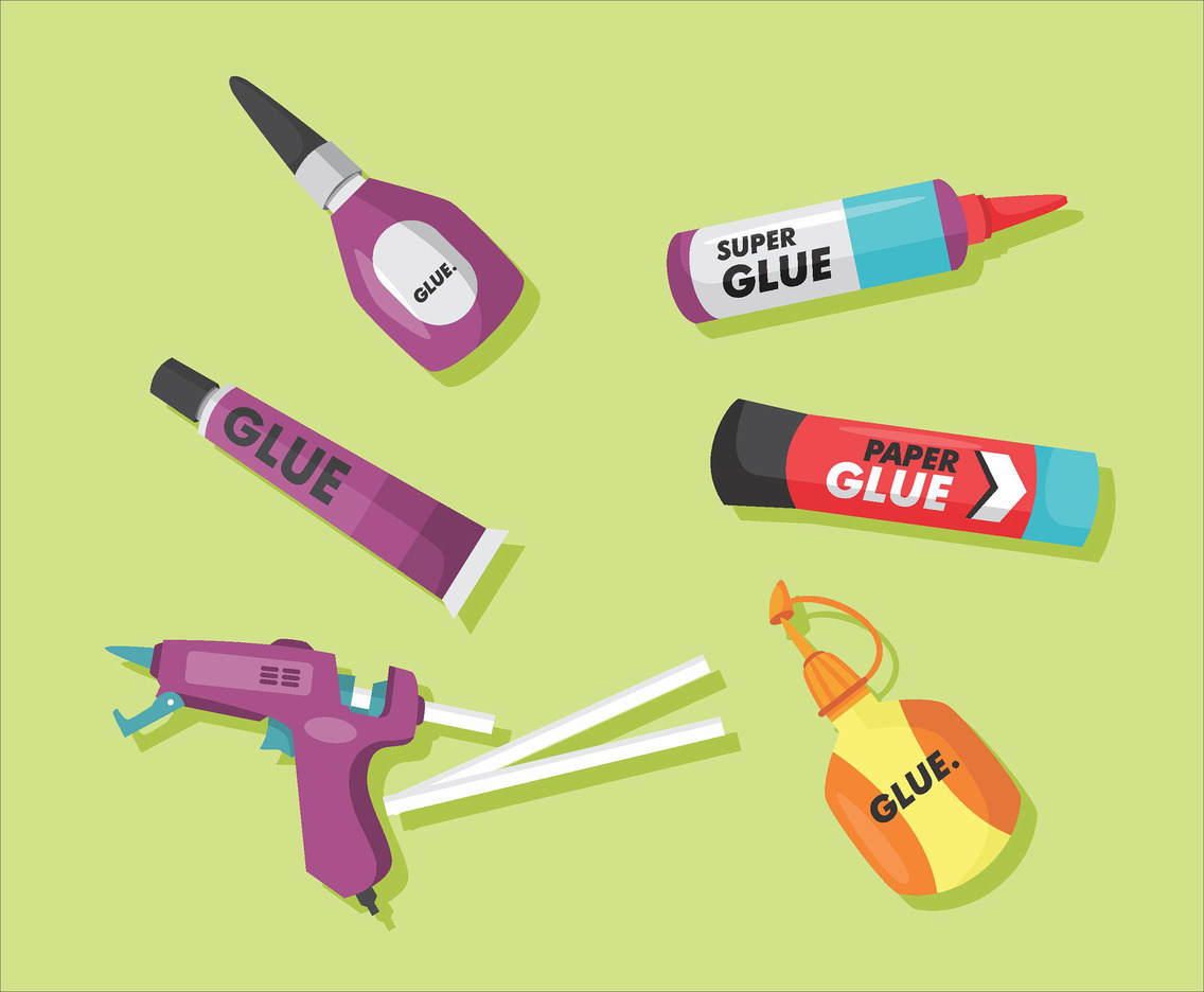 Glue Vector Pack