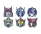 Autobot Vector White Background