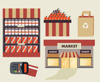 Supermarket Vector Pack