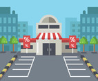 Supermarket Illustration Vector
