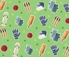 Cricket Vector Pattern