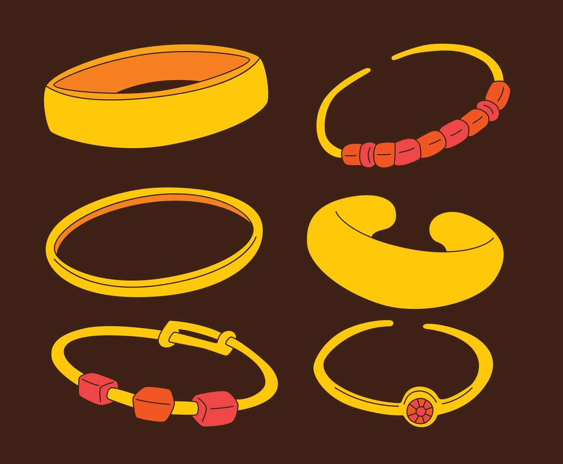Bracelet Collection Vector