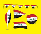 Iraq Flag Vector Pack