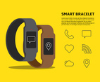 Smart Bracelet Illustration