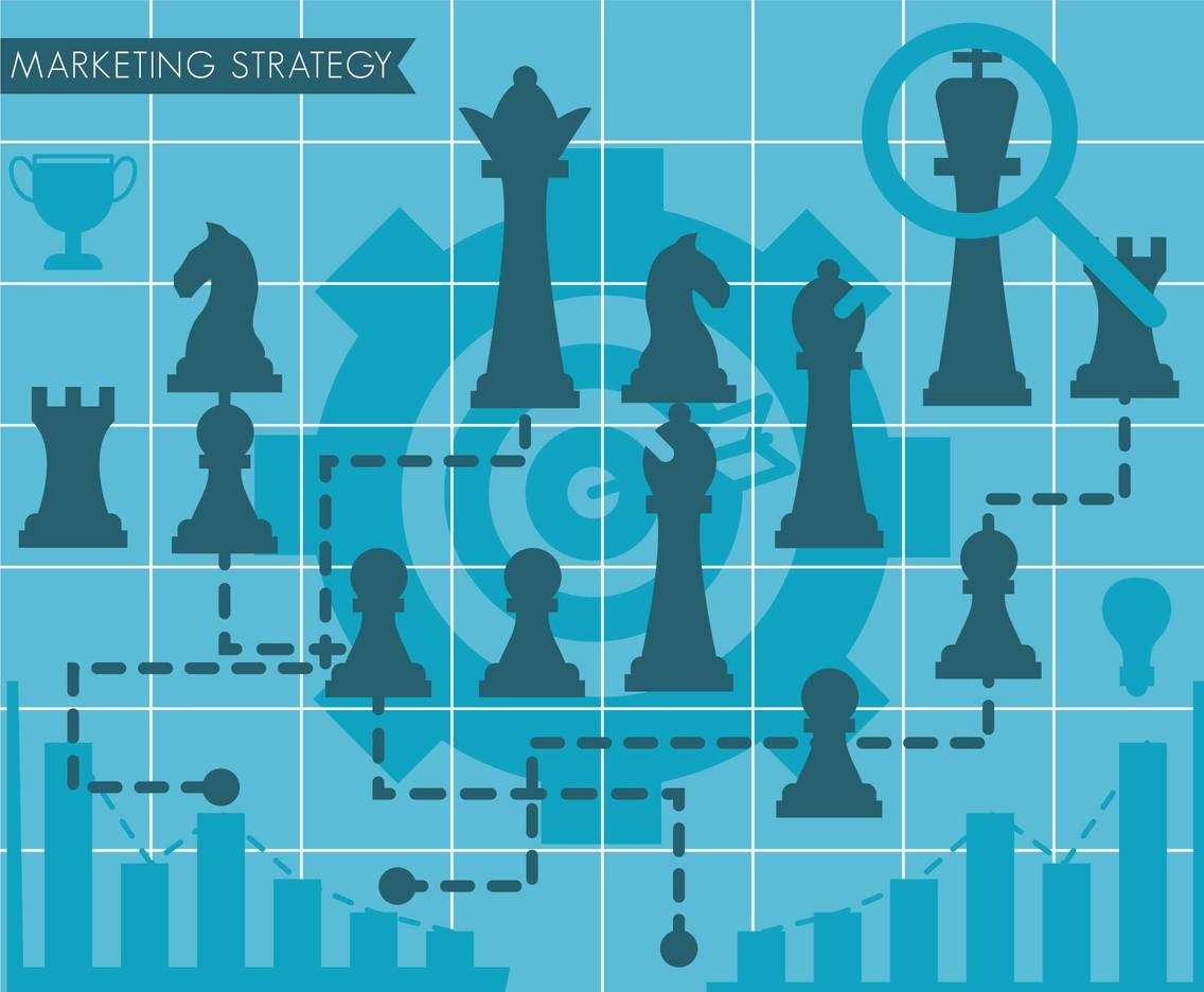 Strategy vector illustration