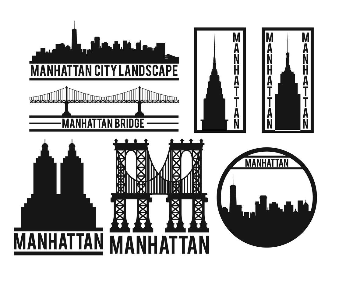 Manhattan vector set