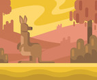 Kangaroo Picture Vector