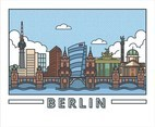 Berlin Illustration Vector