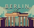 Berlin's Gate Vector