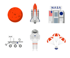 Nasa Corporate Vector