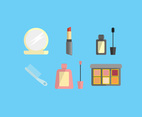 Beauty Set Vector