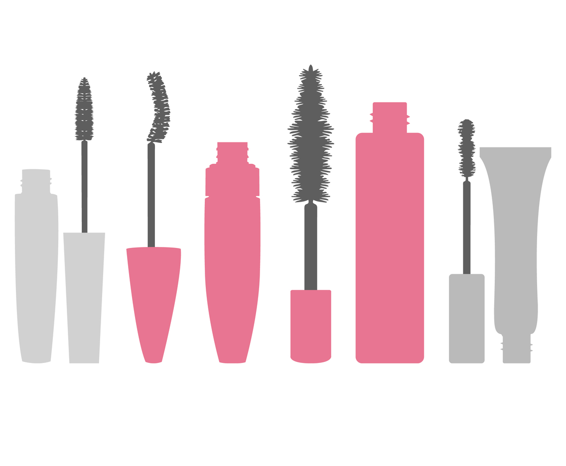 Flat Cartoon Mascara Vectors