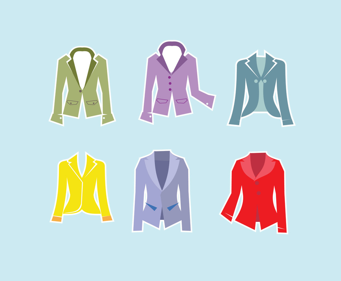 Female Blazer Vector