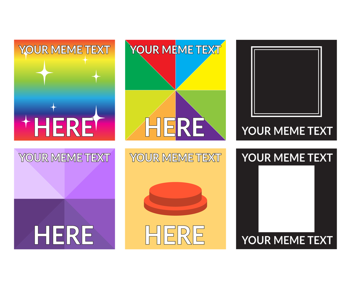 Meme Template Background Vector Vector Art Graphics Freevector Com